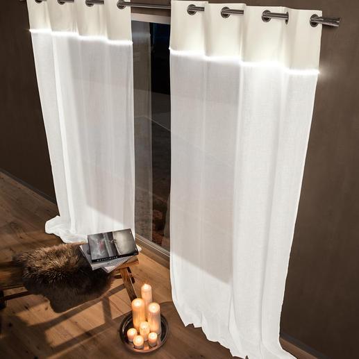 Vorhang Lumilin - 1 Stück Innovative Symbiose von Stoff und Licht.