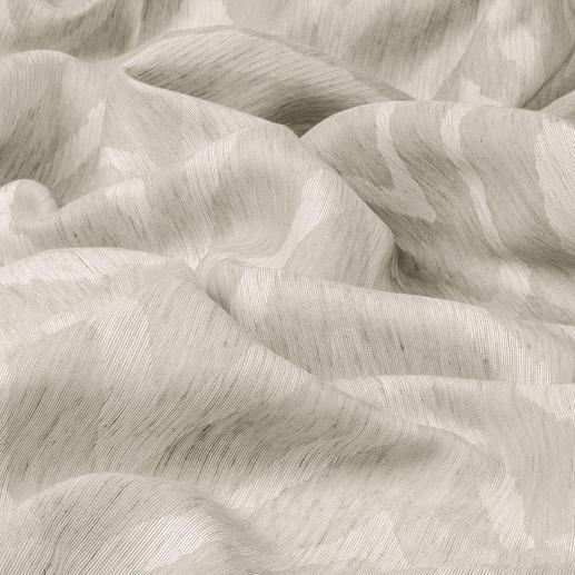 """Vorhang """"Arielle"""", 1 Vorhang So sanft kann ein scharfes Zackenmuster wirken."""