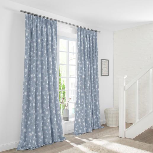 Vorhang Fresh - 1 Stück Plastisch wie gestickt, aber unempfindlicher – und deutlich preiswerter.