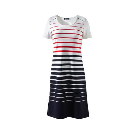 Saint James Bretagne-Mikrofaser-Kleid Das Bretagne-Kleid 2.0 von Saint James: Eleganter, unkomplizierter und strapazierfähiger.