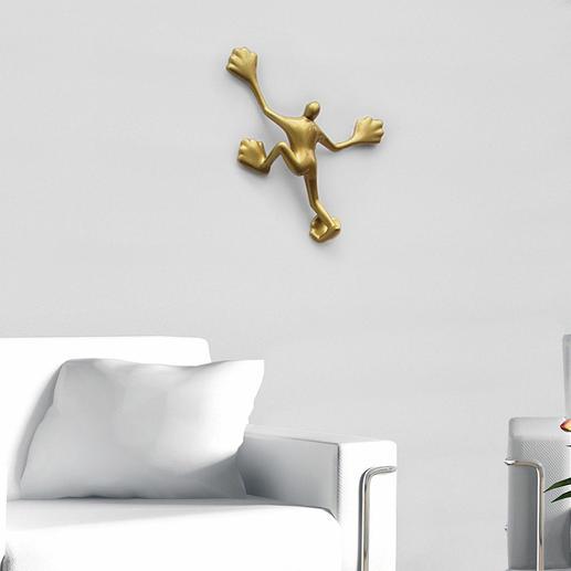 Flossi befestigen Sie einfach an Ihrer Haus- oder Wohnzimmerwand.