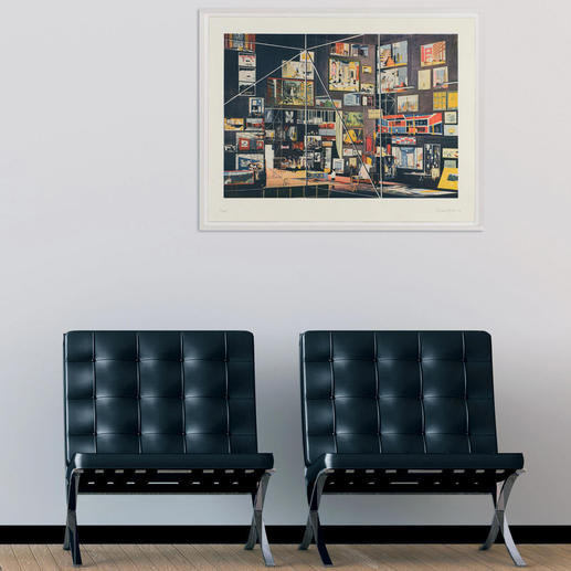 Ein aussergewöhnliches Werk, das Ihrem Raum mehr Tiefe verleiht.