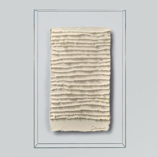 André Schweers – Weisse Faltung - Einzigartige Gelegenheit, ein Unikat André Schweers' zu diesem Preis zu erhalten. Masse: 39 x 58 cm