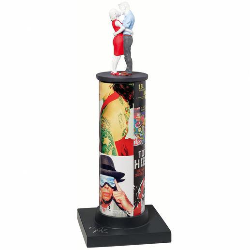 Christoph Pöggeler – Der Kuss Exklusiv im Pro-Idee Kunstformat: Sonderedition der berühmten Säulenheiligen von Christoph Pöggeler. Nur 50 Exemplare. Masse: 43 cm