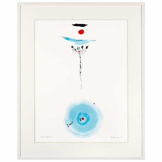 """""""Aquarius"""", gerahmt 83 x 103 cm."""