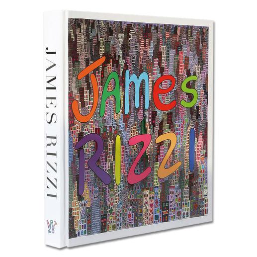 """Zur Grafik erhalten Sie die Publikation """"James Rizzi, Artwork 1993 – 2006""""."""