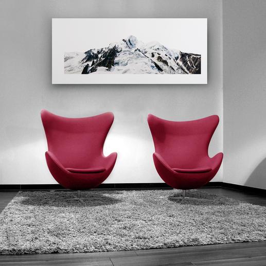 Mit 130 x 55 cm eine ideale Grösse, um das Werk über Sitzgruppen, Sideboards und Sofas zu platzieren.