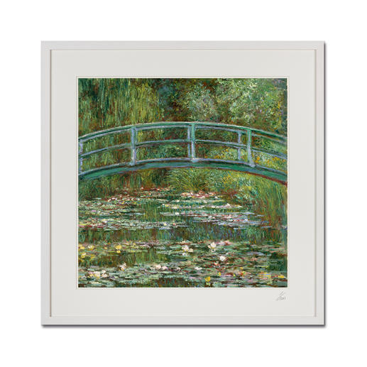 "Claude Monet: ""Water Lily Pond"" (1899) - Claude Monet ""Water Lily Pond"" (1899) als High-End Prints™.