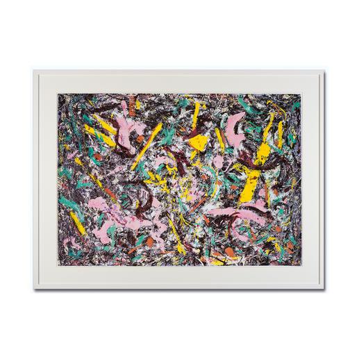 """Jackson Pollock: """"Unformed Figure"""" (1953) - Jackson Pollock """"Unformed Figure"""" (1953) als High-End Prints™. Endlich eine Qualität, die dem großen Meisterwerk tatsächlich gerecht wird."""