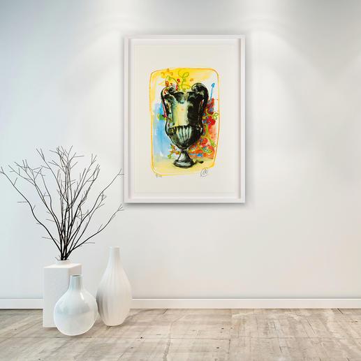 Unverkennbar Lüpertz – es gibt nichts Vergleichbares auf dem Kunstmarkt.