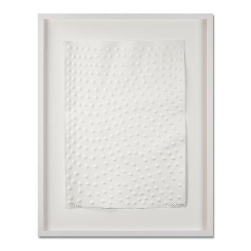 Günther Uecker – Graphein B - Prägedruck auf 300-g-Büttenpapier   Auflage: 120 Exemplare zzgl. e. a.   Blattgrösse (B x H): 50 x   70 cm   Masse: gerahmt 73 x 93 cm