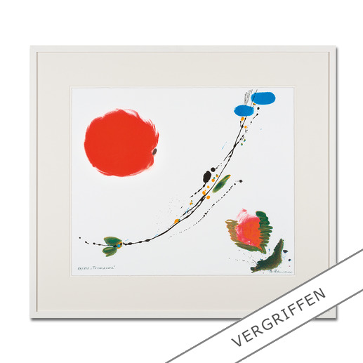 """""""Primavera"""", gerahmt 86 x 76 cm."""