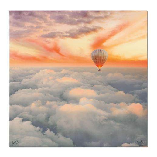 """Robert Jahns: """"Candy Cloud"""" - Robert Jahns: Einer der populärsten Instagram-Stars. Seine erste Leinwand-Edition – exklusiv bei Pro-Idee. 60 Exemplare."""