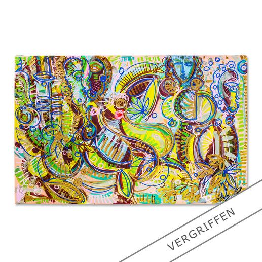 Leon Löwentraut – Carribean Flair Leon Löwentraut: Investition in ein aussergewöhnliches Talent. Vierte exklusive Pro-Idee Edition des Shootingstars der deutschen Kunstszene (die ersten drei waren nach kürzester Zeit ausverkauft). 100 Exemplare.