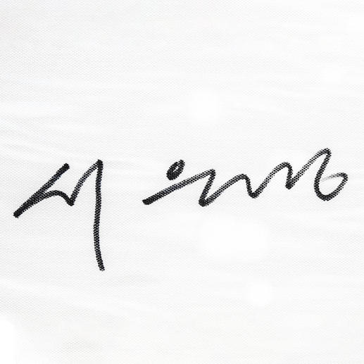 Handsignatur der Künstlerin.