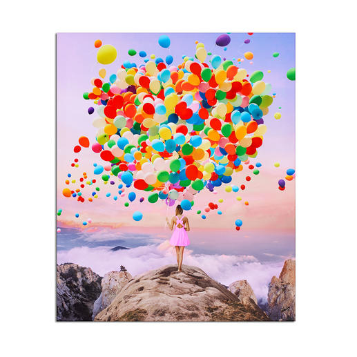 Robert Jahns – Top of the World Robert Jahns: Einer der populärsten Instagram-Stars. 40.000 Likes über Nacht. Top of the World  –  jetzt als Leinwand-Edition. Exklusiv bei Pro-Idee. Masse: 90 x 110 cm