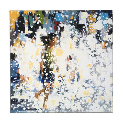 Renata Tumarova – The Flow Renata Tumarova editiert exklusiv für Pro-Idee ihr bisher nicht veröffentlichtes Werk. Von der Künstlerin übermalt. 40 Exemplare.