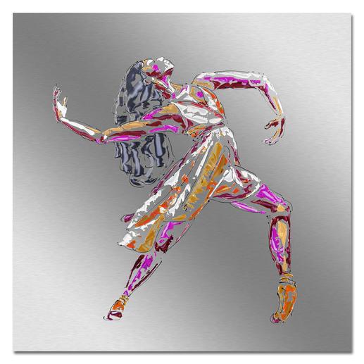 Paul La Poutré – Love to Dance Paul La Poutré:  Unikatserie – 100 % von Hand auf Edelstahl gemalt. (Die erste war nach wenigen Tagen ausverkauft.) 24 Exemplare. Exklusiv bei Pro-Idee.