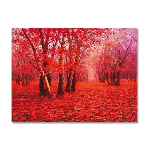 Pei Lian Zhi – Red Forest Pei Lian Zhi: In mehr als 200 Sammlungen vertreten.Neueste Edition – partiell von Hand übermalt. 40 Exemplare.