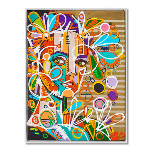 David Tollmann – Goldener Käfig II David Tollmann: Unverwechselbare Kunst in dritter Generation. Neueste Leinwand-Edition. Handübermalt. 49 Exemplare.