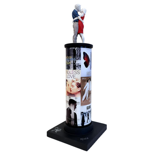 Christoph Pöggeler – Säulenheilige Love Neueste Edition der berühmten Säulenheiligen von Christoph Pöggeler. 333 Exemplare. Masse: 43 cm