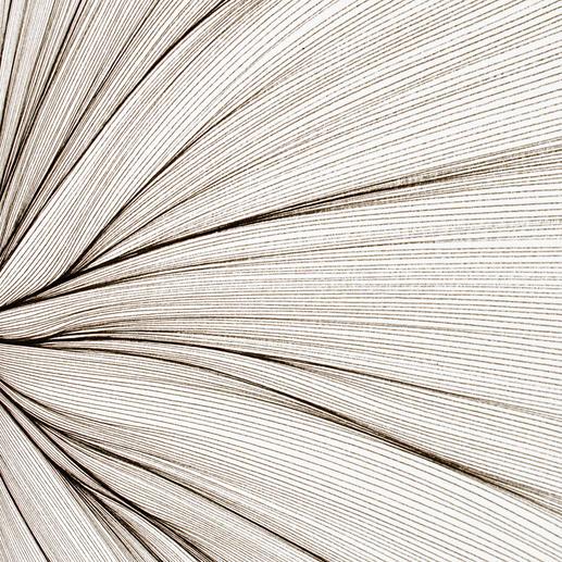Die Entstehungszeit jeder Linie entspricht exakt der Länge eines Atemzugs.