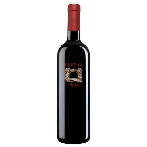 """Las Altillas 2014, Baron de Ley, Rioja DOC, Spanien Der hochklassige Rioja der Spitzenlage """"Las Altillas"""". Vom hochgelobten """"Ausnahme-Weingut"""" Baron de Ley."""