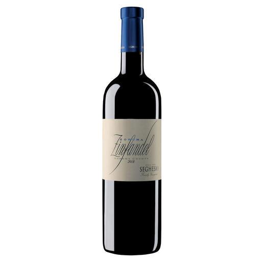 Zinfandel Sonoma County 2013, Seghesio, Kalifornien, USA - Zum vierten Mal unter den Top-100-Weinen der Welt. (Wine Spectator 2008, über den Jahrgang 2007, www.winespectator.com)