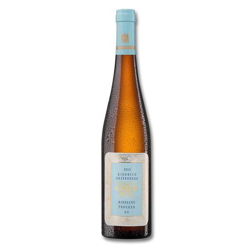 """Robert Weil Kiedrich Gräfenberg Grosses Gewächs 2013, Kiedrich, Rheingau, Deutschland - """"… perfekt gewobener Knockout-Riesling."""" (Robert Parker, www.robertparker.com, Wine Advocate 216, 01/2015"""