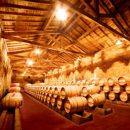 Weinkeller der Bodegas Muga