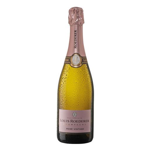 """Roederer Brut Rosé, Louis Roederer, Champagne AOC, Frankreich """"Fein gewebt, delikat und rassig."""" (Wine Spectator, www.winespectator.com)"""