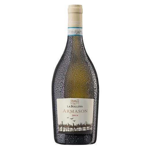 """Armason 2014, La Bollina, Piemont, Italien - """"Einer der besten Weissweine Italiens. 96 Punkte."""" (Luca Maroni über den Jahrgang 2012, lucamaroni.com, 08.07.2013)."""