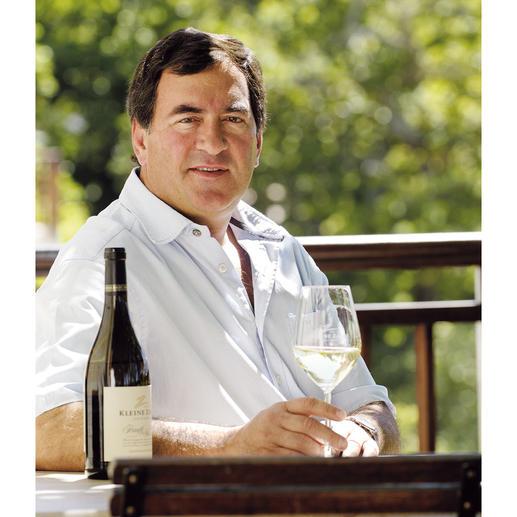 Kleine Zalze Chenin Blanc 2017, Stellenbosch, Südafrika Der beste Weisswein Südafrikas. Von 50 verkosteten Weissweinen aus Südafrika. (Mundus Vini Sommerverkostung 2015 über den Jahrgang 2015)