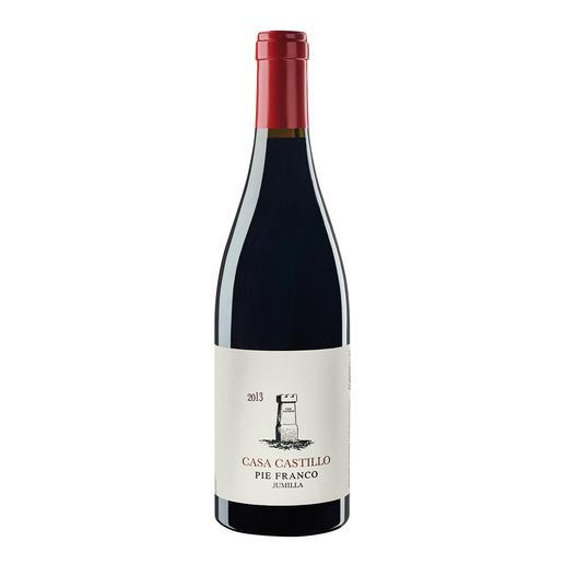 """Pie Franco 2013, Casa Castillo, Jumilla, Spanien - """"… der wohl erschwinglichste Weltklassewein Spaniens. 97 Punkte."""" (Robert Parker, Wine Advocate 217, 02/2015)"""