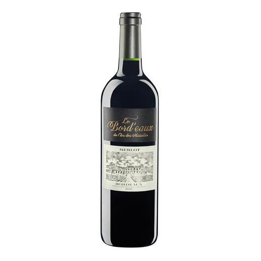 Le Bord'eaux du Clos des Moiselles 2010, Oswaldo Hernandez, Bordeaux, Frankreich Guter Bordeaux ist leider zu teuer? Hier ist die erfreuliche Ausnahme.