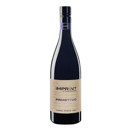 Imprint Primitivo 2014, A Mano SRL, Noci, Apulien, Italien - Weinbereitung wie bei einem Amarone. Zum süditalienischen Preis.