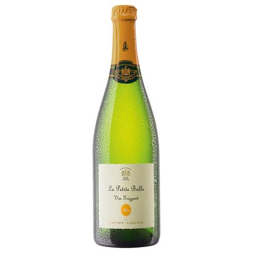 Le Petite Bulle, Bouvet Ladubay, Loire, Frankreich Frizzante erobert die traditionelle Flaschengärung.