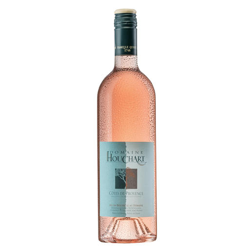 "Domaine Houchart Rosé 2015, Provence, Frankreich - Der ""beste Rosé der Welt"". (Wines Competing in Vinalies International 2013 über den Jahrgang 2013)"