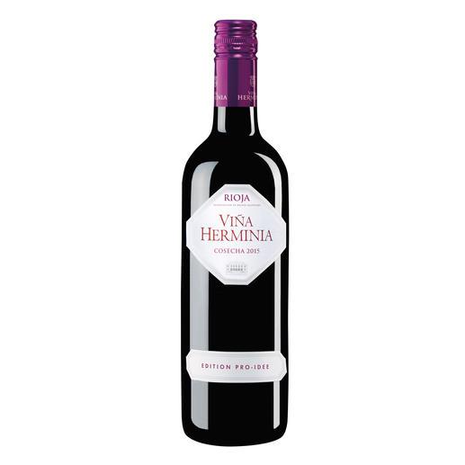 Viña Herminia Tempranillo 2015, Rioja DOC, Spanien - Unser Verkostungssieger. (Von mehr als 40 verkosteten Rioja-Weinen)