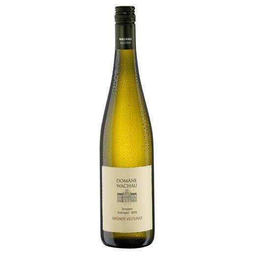 """Grüner Veltliner Federspiel """"Terrassen"""" 2015, Qualitätswein, Domäne Wachau, Österreich - Der Weisswein des Jahres aus Österreich. (Weinwirtschaft 01/2009)"""