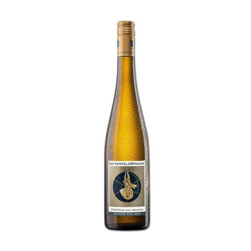 Battenfeld-Spanier Riesling 2015, Hohen-Sülzen, Rheinhessen, Deutschland Der Wein aus diesen Reben wird in einigen Jahren wohl das Vierfache (!) kosten.