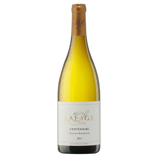 """Centenaire Blanc 2015, Domaine Lafage, Languedoc-Roussillon, Frankreich """"Zählt zu den besten Weissweinen der Welt. 93 Punkte"""" (Robert Parker über den Jahrgang 2013, www.robertparker.com, Wine Advocate 212, 04/2014)"""