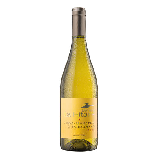 "Gros Manseng Chardonnay 2015, Domaine La Hitaire, Cotes de Gascogne, Frankreich - ""Der beste Weisswein aus Frankreich."" (Von 199 verkosteten Weissweinen aus Frankreich, Mundus Vini Frühjahrsverkostung 2016)"