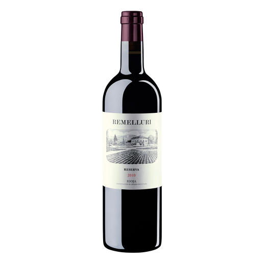 Remelluri Reserva 2010, Granja Remelluri, Rioja, Spanien 96 Punkte. Im Guía Peñín 2016.