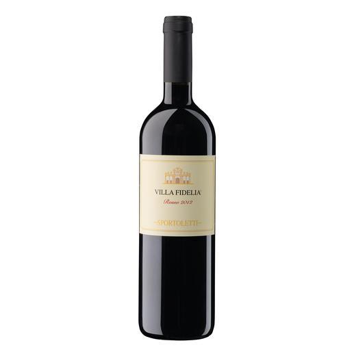 Villa Fidelia Rosso 2012, Sportoletti, Umbrien, Italien - Seltene Einigkeit. Bei einem Wein für 22.30 Fr.