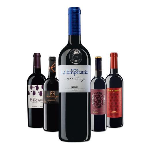 """Testpaket der Nominierten """"Tempranillo bis 15 Franken, Mai 2016"""" - Pro-Idee Wine Competition"""