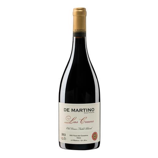 """Old Bush Vines """"Las Cruces"""" 2013, De Martino, D.O. Cachapoal, Chile """"Ein Kracher für den Preis. 95 Punkte."""" (James Suckling, www.jamessuckling.com, 12.05.2016)"""