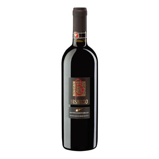 """Montepulciano d`Abruzzo """"Bisanzio"""" DOC 2015, Citra, Abruzzen, Italien """"3-Gläser-Weine"""" machten ihn berühmt. Wirklich sensationell aber ist dieser Montepulciano."""