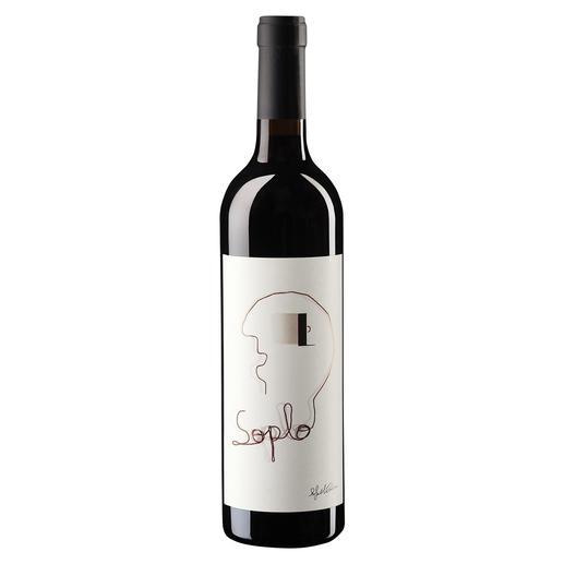 """Soplo 2013, Rafael Cambra, Valencia, Spanien Für 12 US$ hält Parker ihn für ein """"grossartiges Schnäppchen"""". (Wine Advocate 225, 05/2016) Hier ist er fast 40 % günstiger."""