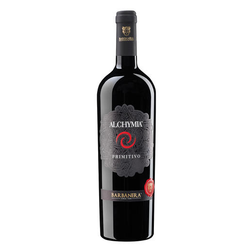 Alchymia Primitivo 2014, Barbanera, Toskana, Italien 98 Punkte von Luca Maroni, Annuario dei Migliori Vini Italiani 2017